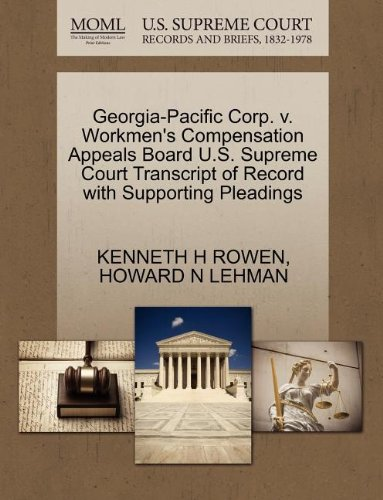 georgia-pacific-corp-v-workmens-compensation-appeals-board-us-supreme-court-transcript-of-record-wit