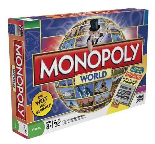 Preisvergleich Produktbild Hasbro - Monopoly 01612100 - Monopoly World
