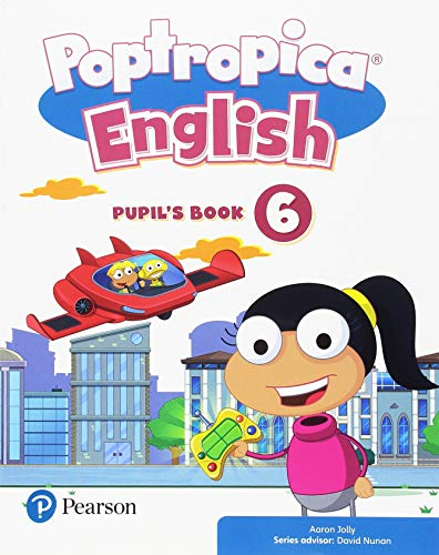 Poptropica English 6 Pupil's Book Pack por Aaron Jolly