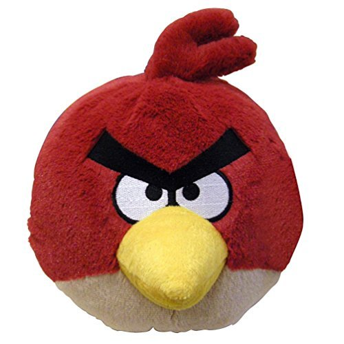 """Angry Birds - Red Bird Plush - with Sound - 20cm 8"""""""