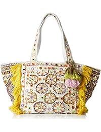 Antik Batik Kino - Bolso de tela para mujer multicolor Multicolor (Multico) 24x28x53 cm (W x H x L)