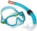 Aqua Lung Sport Kids 'Mix Maske und Schnorchel Combo, Clear Lens/Aqua, klein