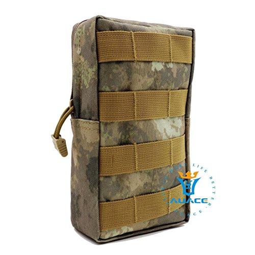 Multifunktions Survival Gear Tactical Beutel MOLLE Beutel Tactical Everyday Tragetasche, Outdoor Camping tragbar Handtaschen Taille Bag Werkzeugtasche Travel Handy Tasche ATAU