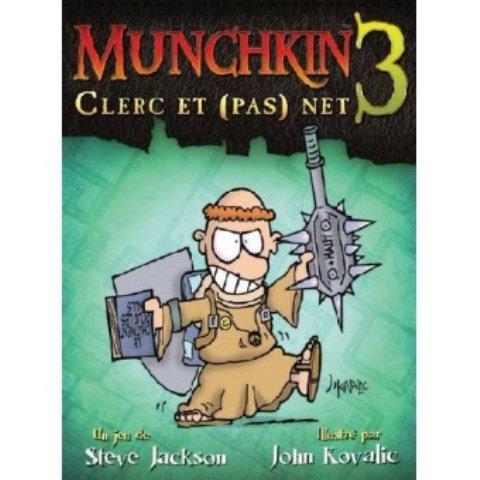 Munchkin Extension - Munchkin 3 , clerc et (pas) net