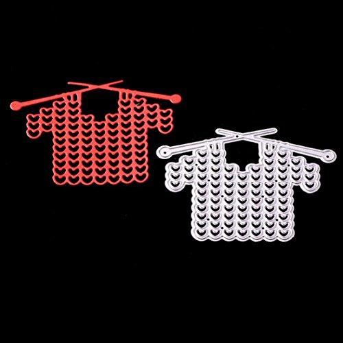 FNKDOR Scrapbooking Stanzschablone Prägeschablonen Stanzmaschine Stanzformen Schablonen, für Sizzix Big Shot und Andere Prägemaschine (D)