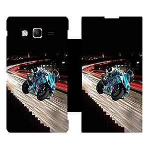 Phone Candy Designer Flip Cover with hi-res printed Vinyl sticker wrap-around for Samsung Tizen Z3
