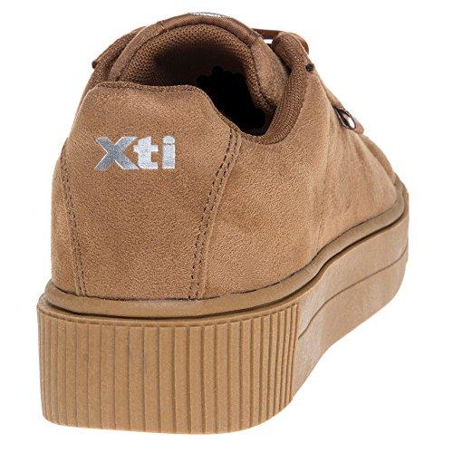 Xti 46801 Damen Sneaker Beige Beige