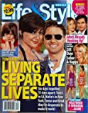 LIFE AND STYLE [No 35] du 01/09/2008 - TOM CRUISE AND KATIE / LIVING SEPARATE LIVES - CONFUSED BY HER NEW LIFE / HOW SURI IS COPING -SCARY SKINNY / HOLLYWOOD IS SHRINKING AGAIN / KELLY RIPA - JESSICA STROUP -A NEW BRITNEY SPEARS -JEN BETRRAYED / JOHN'S ALREADY HOOKING UP