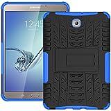 """KATUMO® Funda Gel Samsung Tab S2 8.0"""", Carcasa de Piel Protectora Case Cover para Tablet Samsung Galaxy Tab S2 8"""" SM-T710/T715 Funda Dura Cubierta Silicona Cubrir-Azul"""