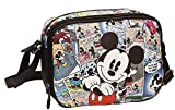 Die besten Disney Messenger Bags - Disney 3235951 Mickey Comic Umhängetasche, Mehrfarbig Bewertungen