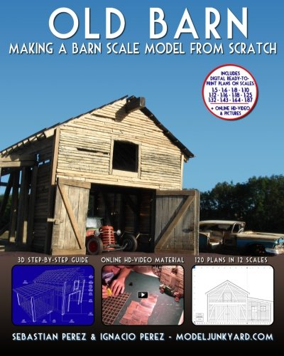 Old Barn: Making a Barn Scale Model from Scratch por Sebastian Perez