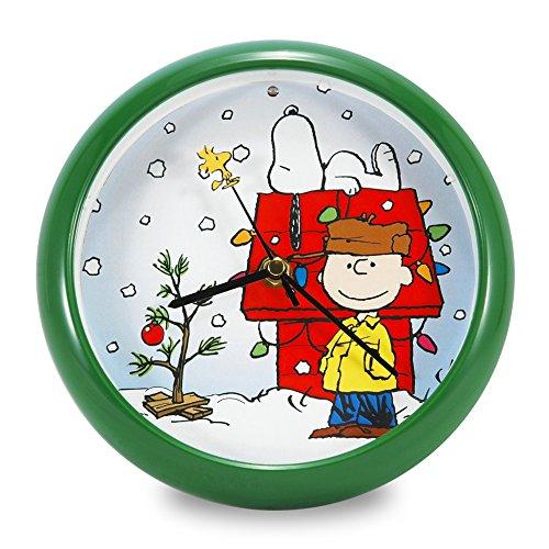PEANUTS Chtistmas Carol Clock