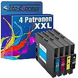 PlatinumSerie® 4x Druckerpatrone XXL mit Chip kompatibel für Ricoh GC-31 Lanier GX e 3300 Series GX e 3300 N GX e 3350 N