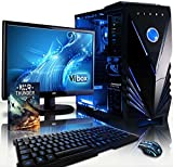 VIBOX Standard 3 PC Gaming Computer con War Thunder Voucher di Gioco, 22
