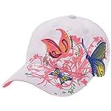 Chic Mailanda Damen Baseball Cap Mädchen Sport Golf Baseball Mütze, Weiß