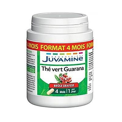 Juvamine Phyto Thé Vert Guarana 120 Gélules