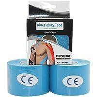 STpro Pro Kinesiologie Tape Elastisches Klebeband Tape Tapeverband Muskel Gelenk Tape f¡§1r Physiotherapie Sport... preisvergleich bei billige-tabletten.eu