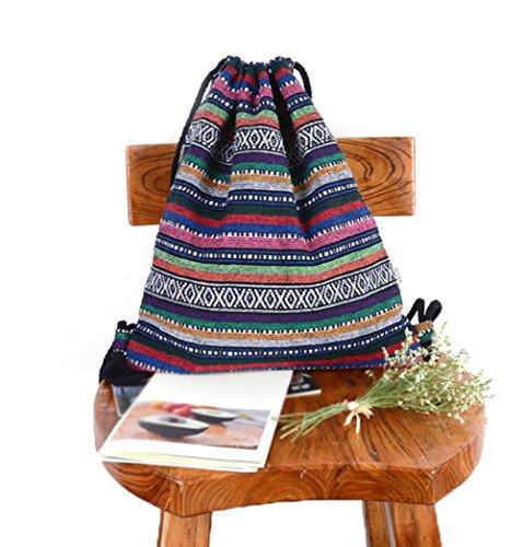 Imagen de laat   de tela para mujeres y niñas con cordones y decoración geométrica, 2
