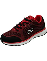 Pure Play Men's Brace BLACK RED Sports Shoes