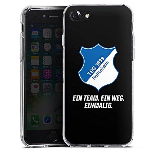 Apple iPhone X Silikon Hülle Case Schutzhülle TSG Hoffenheim Fanartikel 1899 Fußball Silikon Case transparent