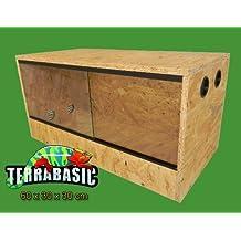 TerraBasic RepCage - Terrario per rettili, aerazione laterale, 60 x 30 x 30 cm