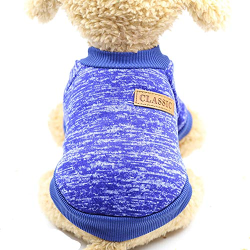 M PET Sweater Fashion Focus auf Pet Dog Kleidung Winter Gestrickte Shirt Welpenpullover für Hunde...