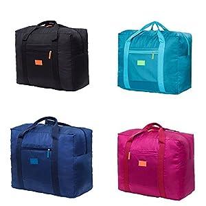 51TUp7mvPPL. SS300  - jooks viaje bolso plegable bolsa de viaje equipaje de mano ligero equipaje maleta ropa bolsa de almacenamiento Ideal…