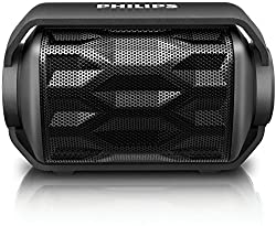 (CERTIFIED REFURBISHED) Philips BT2200B/00 Portable Bluetooth Speakers (Black)