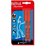 Brand New. Berol Pens for Handwriting Blue Ref S0672920 [Price Offer] [Pack 2] May-Sept 2011