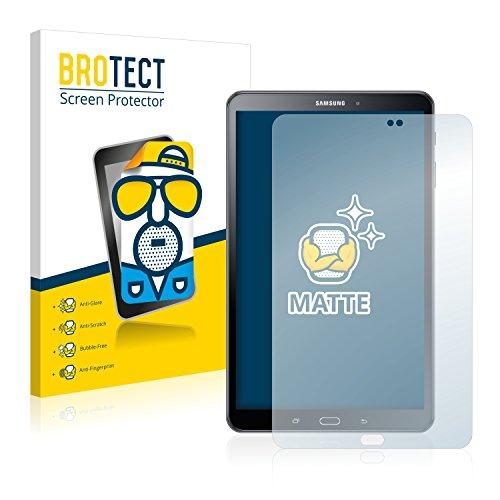 BROTECT Entspiegelungs-Schutzfolie kompatibel mit Samsung Galaxy Tab A 10.1 SM-T585 / T580 (2016) (2 Stück) - Anti-Reflex, Matt - Kratzfeste Arbeitsfläche