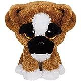 TY 36188 - Beanie Boo's Brutus Regular, peluche perro, 15 cm (United Labels Comicwa 36188TY) - Peluche Perro Boxer Brutus Beanie Boos (15 cm), Peluche A partir de 4