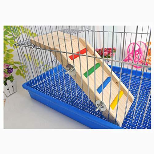 Toboggan Spielleiter Spielzeug aus Holz für Zwerghamster, Mäuse, Ratten, Kleine Nagetiere