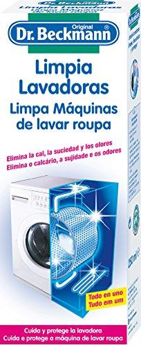 Dr. Beckmann - Limpia lavadoras - Elimina la cal, la suciedad y los olores - 250 ml