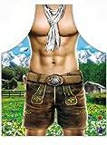 Itati Alpenboy - Delantal para hombre, diseño de chico alpino musculado