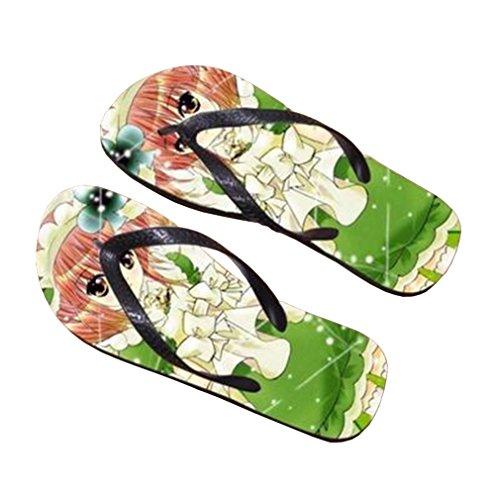 Bromeo Shugo Chara Anime Unisexe Flip Flops Tongs 837
