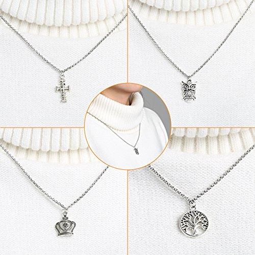 a9f442677531 Naler - Abalorios de plata de diferentes estilos retro