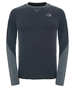 The North Face Waterproof Harpster Men's Outdoor Crew Neck Sweatshirt available in TNF Black - Small