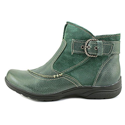 Earth Origins Dayton Breit Rund Leder Mode-Stiefeletten Forest Green
