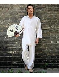 53fd86d84bd2 Yoga Confortables Femme vêtements Tai Chi vêtements Lin Blanc Sports de Plein  air · EUR 108