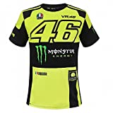Valentino Rossi VR46 Moto GP Monster Energy Replica T-shirt Offiziell 2018