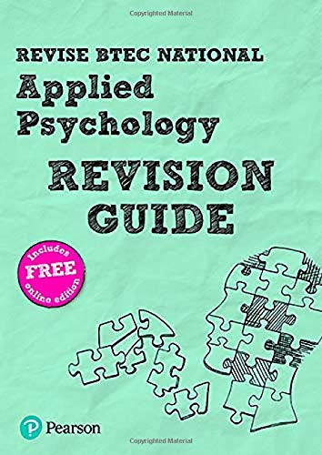 Revise BTEC National Applied Psychology Revision Guide (Revise BTEC National in Applied Psychology)