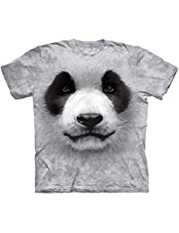 The Mountain Unisexe Enfant Grand Visage Panda T Shirt