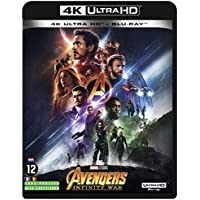 Avengers Infinity War - 4K + Blu-Ray 2D + bonus