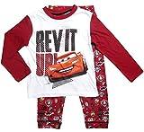 Cars Disney 3 Kollektion 2017 Ökotex Standard 100 Schlafanzug 92 98 104 110 116 122 128 Jungen Pyjama Neu Lang Lightning McQueen Weiß-Rot (92-98; Prime, Weiß-Rot)