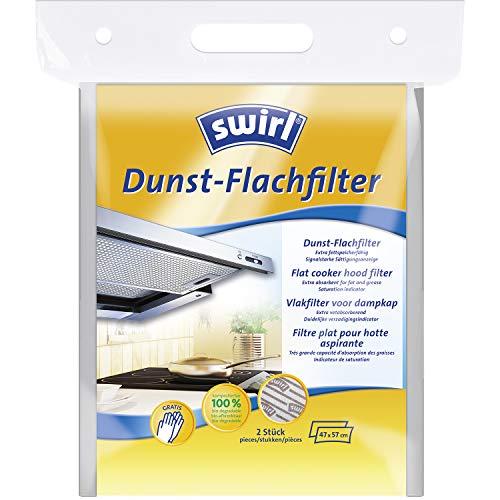 Swirl Dunst-Flachfilter für Dunstabzugshauben (Zuschneidbarer Filter aus kompostierbarem Material)