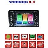 ANDROID 8.0 GPS DVD USB SD WI-FI Bluetooth autoradio 2 DIN navigatore Audi A3 / Audi S3 2002, 2003, 2004, 2005, 2006, 2007, 2008, 2009, 2010, 2011