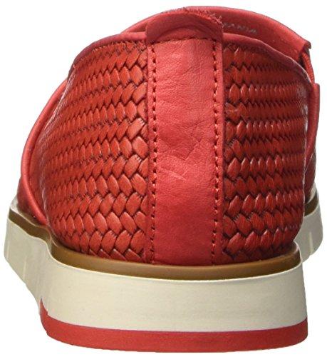 Flexible 5155203, Pompes à Plateforme Plate Femme Rouge (Rosso)