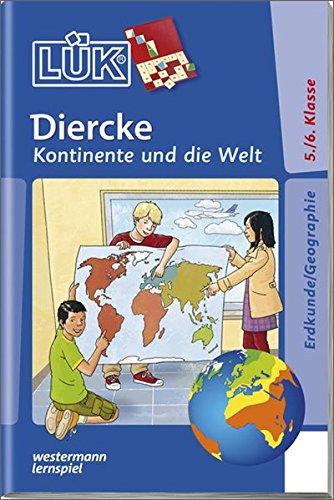 Produktbild LÜK / Sachunterricht, Erdkunde und Geschichte: LÜK: Diercke - Kontinente und die Welt: Markante Punkte der Erde