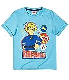Feuerwehrmann Sam T-Shirt hellblau (110/116)