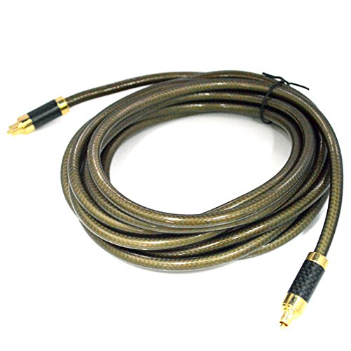 Generic TOSLINK Optical Digital Audio Cable For Sky, HDTV, Home Cinema, Amplifiers - 5M/16.4Feet